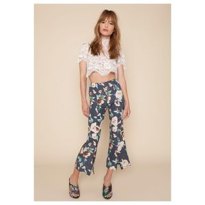 Stone Cold Fox Cosmo Floral Bell Crops Blue